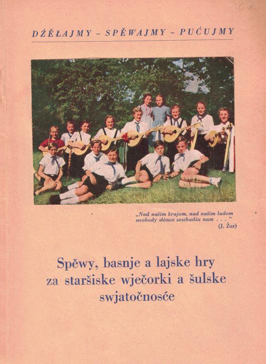 (A) Spěwy, basnje a lajske hry za staršiske wječorki a šulske swjatočnosće