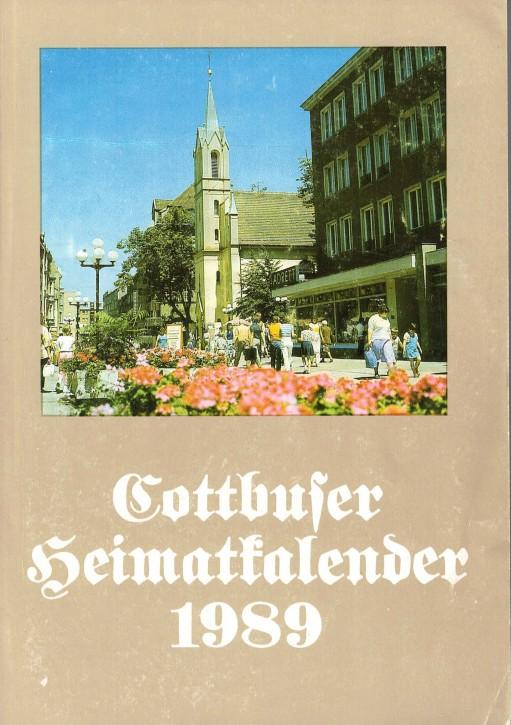 (A) Cottbuser Heimatkalender 1989