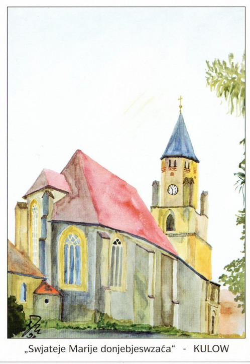 Katholische Pfarrkirche in Wittichenau (L)