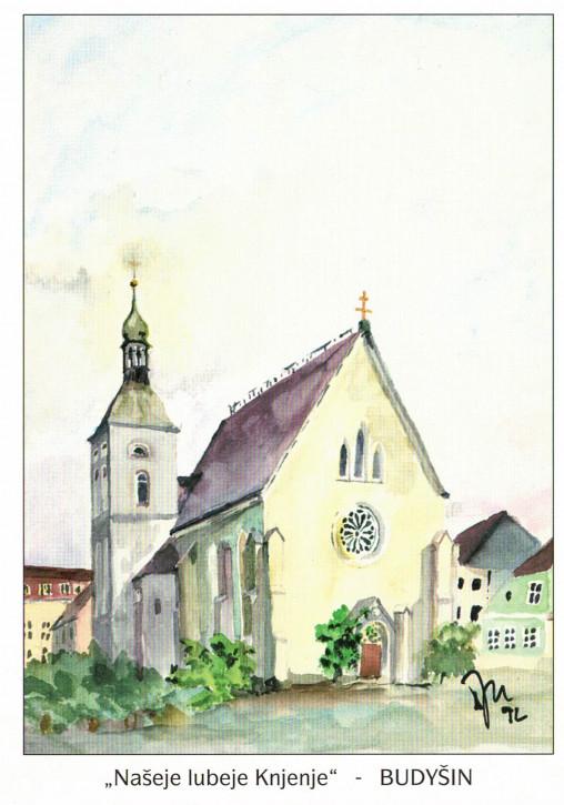 Katholische Pfarrkirche in Bautzen (L)