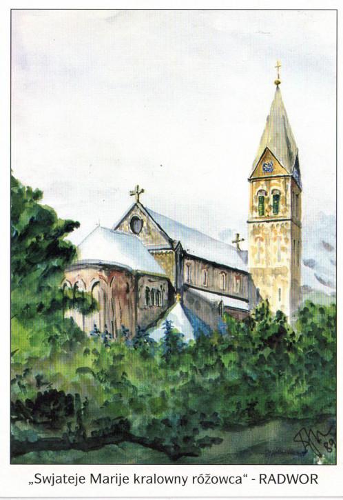 Katholische Pfarrkirche in Radibor (L)