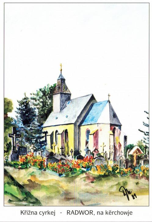 Friedhofskapelle in Radibor (L)