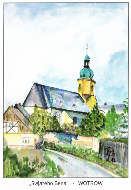 Katholische Pfarrkirche in Ostro (L)