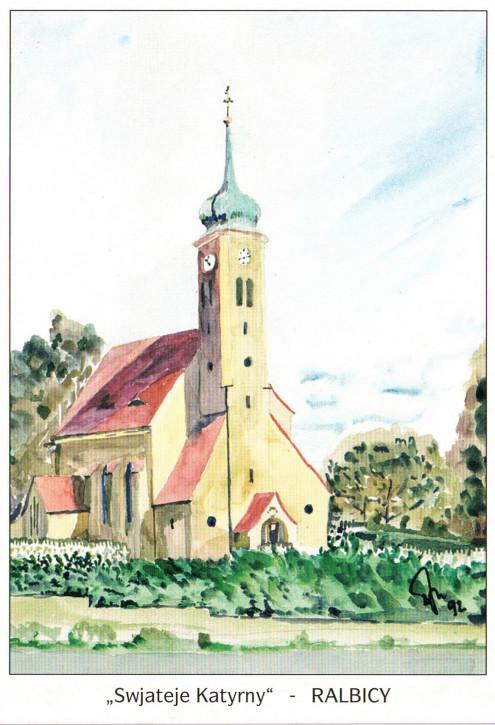 Katholische Pfarrkirche in Ralbitz