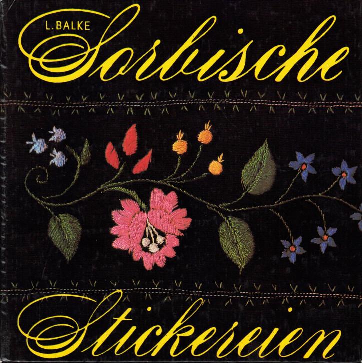 (A) Sorbische Stickereien
