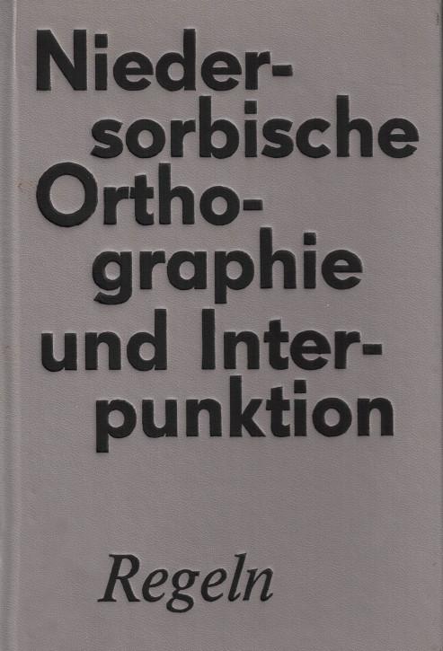 (A) Niedersorbische Orthografie und Interpunktion