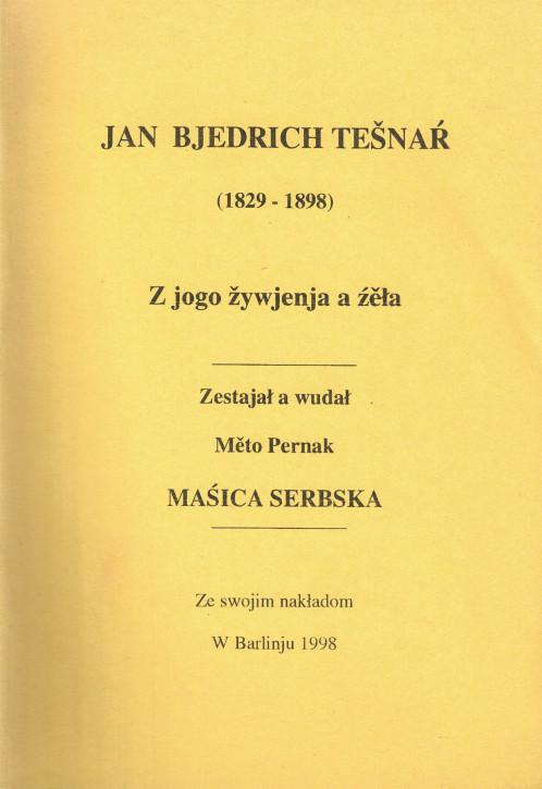 (A) Jan Bjedrich Tešnaŕ