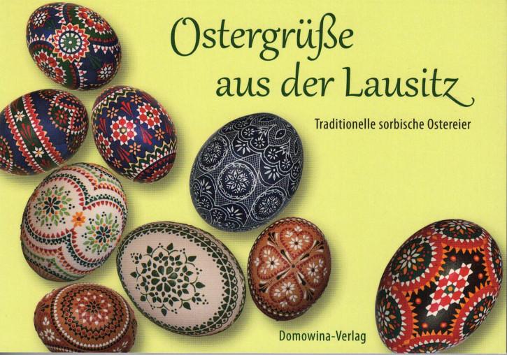 """Postkartenbuch """"Ostergrüße aus der Lausitz"""" (L)"""