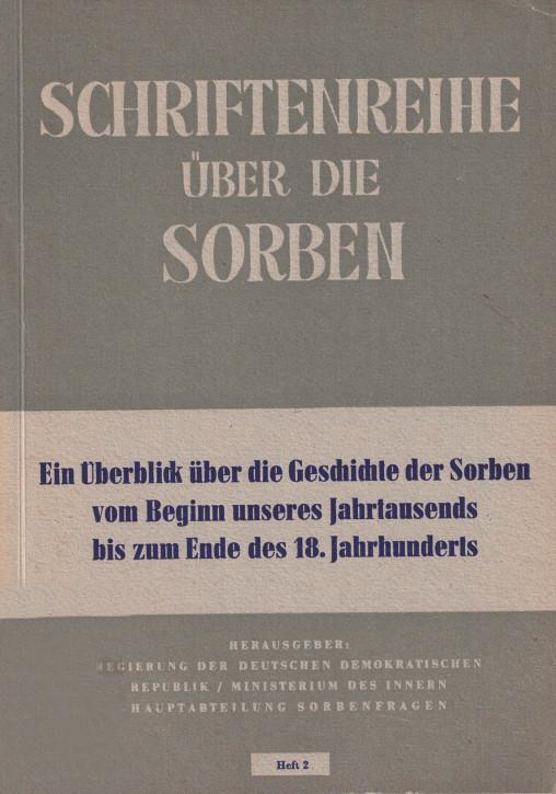 (A) Schriftenreihe über die Sorben.