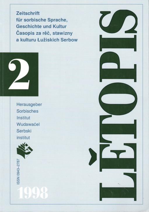 (A) Lětopis 2/1998