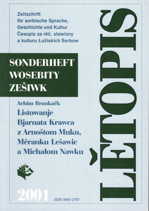 (A) Lětopis 2001 Sonderheft