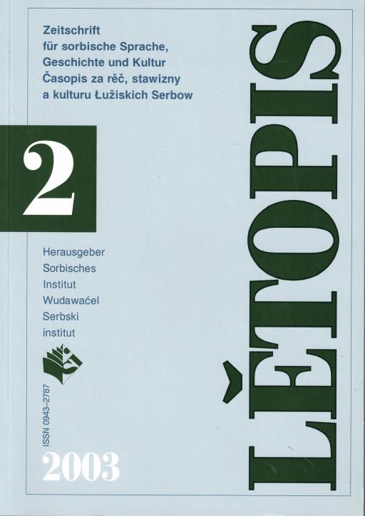 (A) Lětopis 2/2003