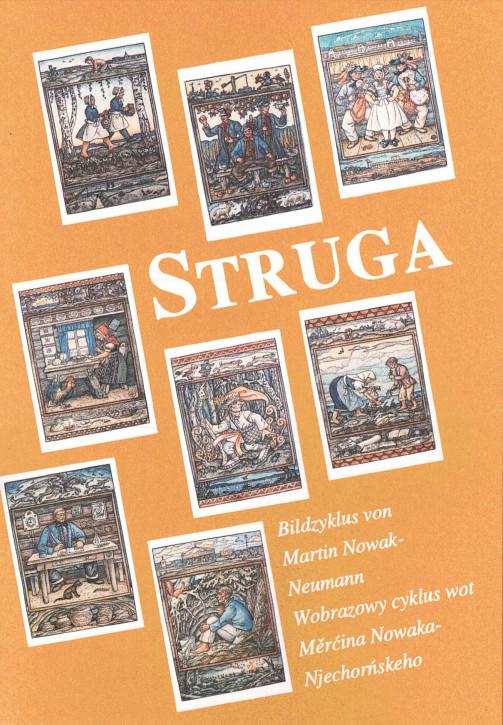 """(A) Postkartenbuch """"Struga"""". Bilderzyklus von Martin Nowak-Neumann"""