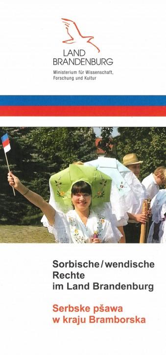 Sorbische/ wendische Rechte im Land Brandenburg