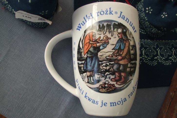 Grosse Tasse Njechórński-Motive