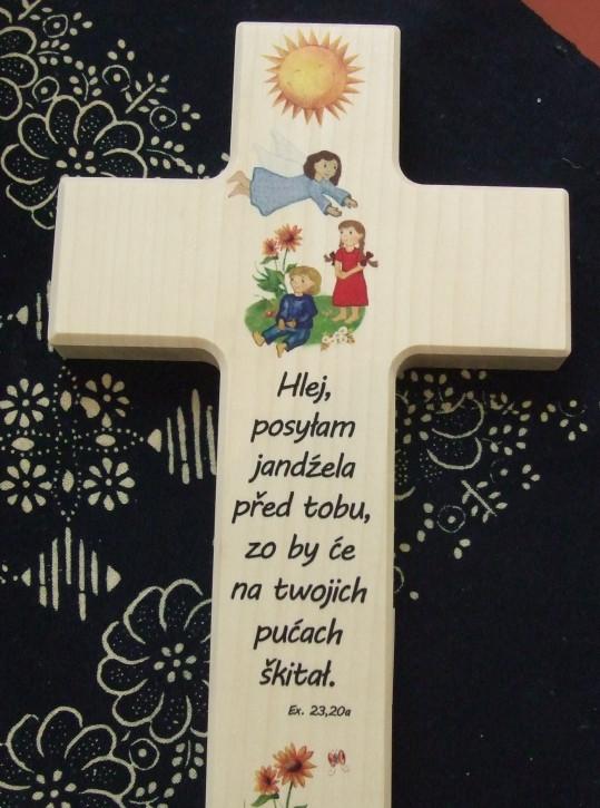 Kreuz mit Bibelspruch