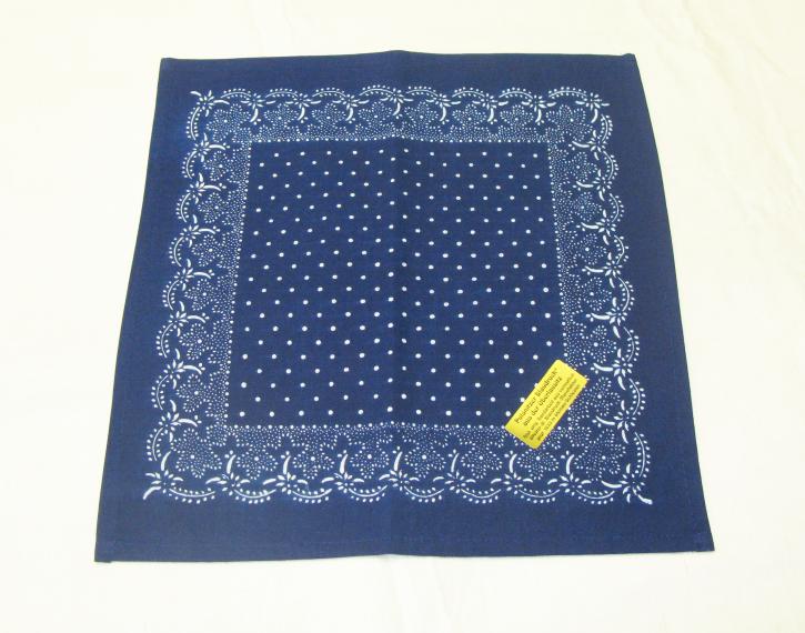 Blaudruck Deckchen 36x36