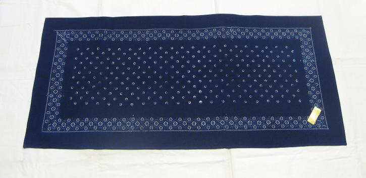 Blaudruck Tischdecke 45 x 85