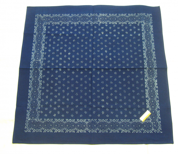 Blaudruck Tischdecke 70 x 70