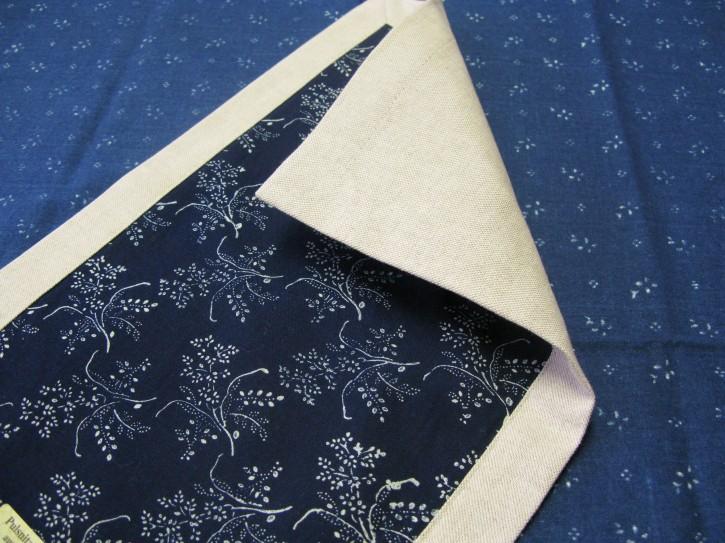 Tischläufer Leinen Muster: Zweig (L)
