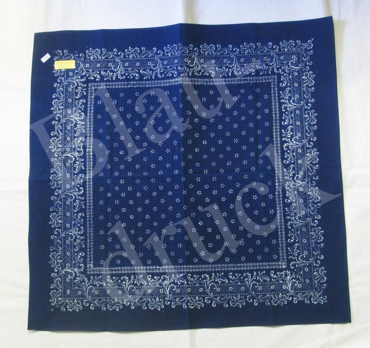 Tischdecke Blaudruck 80 x 80 cm (L)