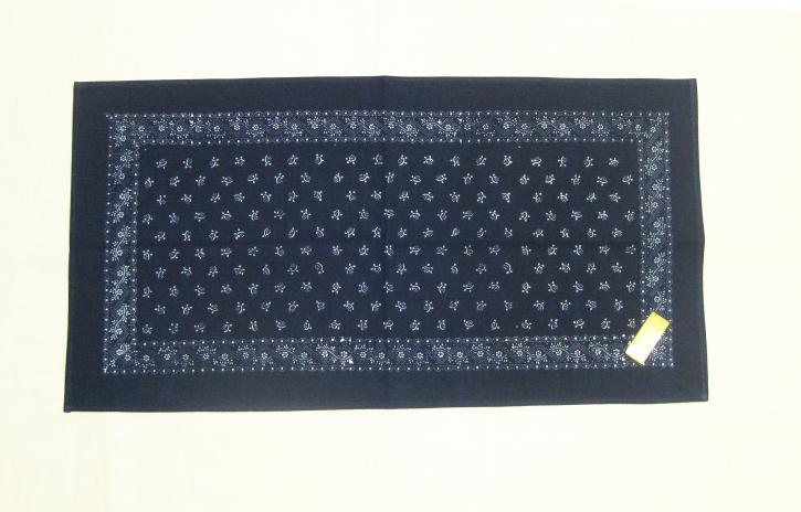 Tischdecke Blaudruck 36 x 70 cm (L)