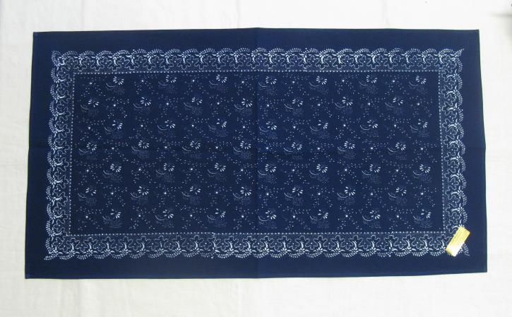 Tischdecke Blaudruck 45 x 85 cm (L)