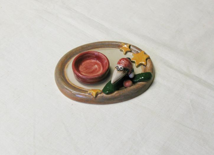 """Keramik """"Weihnachten mit Krabat"""" (L)"""