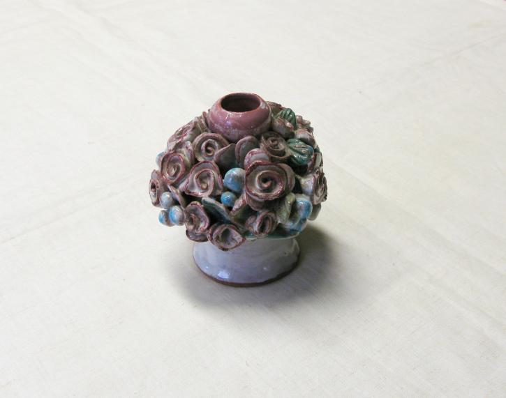 "Keramik ""Kleiner Rosenleuchter"" (L)"