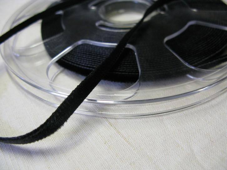 1 Meter Samtband schwarz Breite: 5 mm (L)