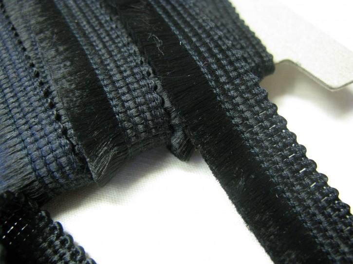 1 Meter Besenborte schwarz (L)