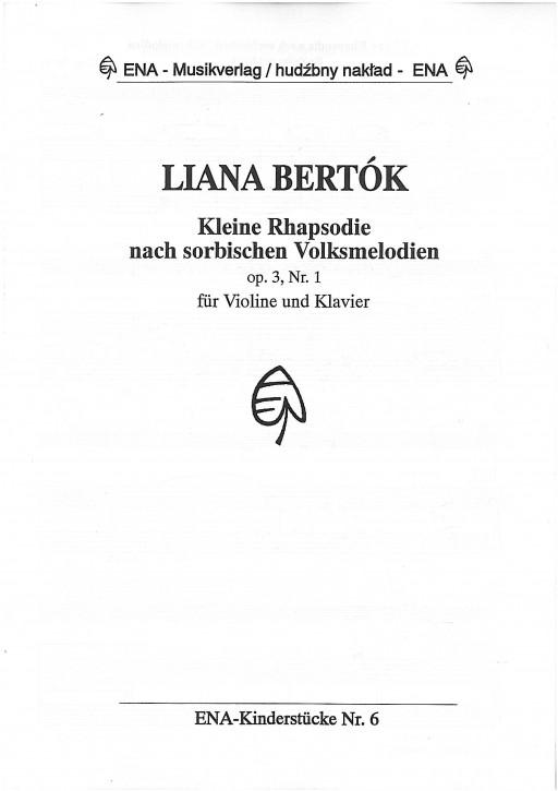 Kleine Rhaspodie nach sorbischen Melodien (L)