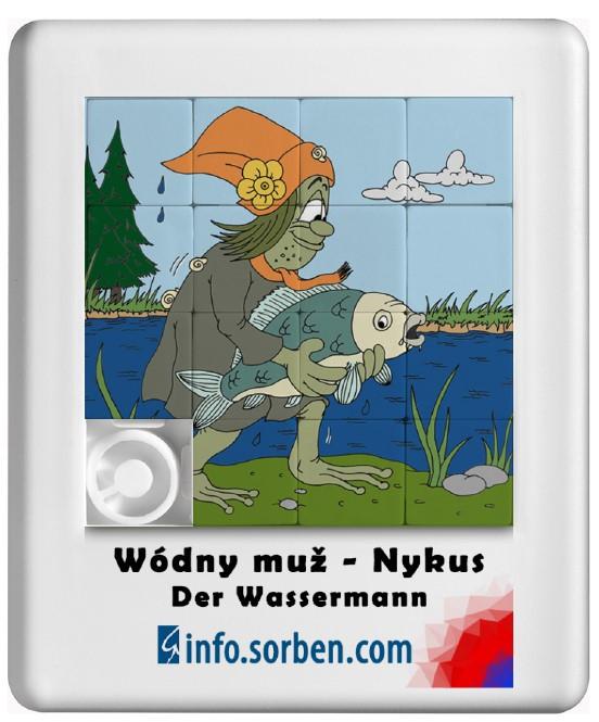 Schiebepuzzle Wassermann