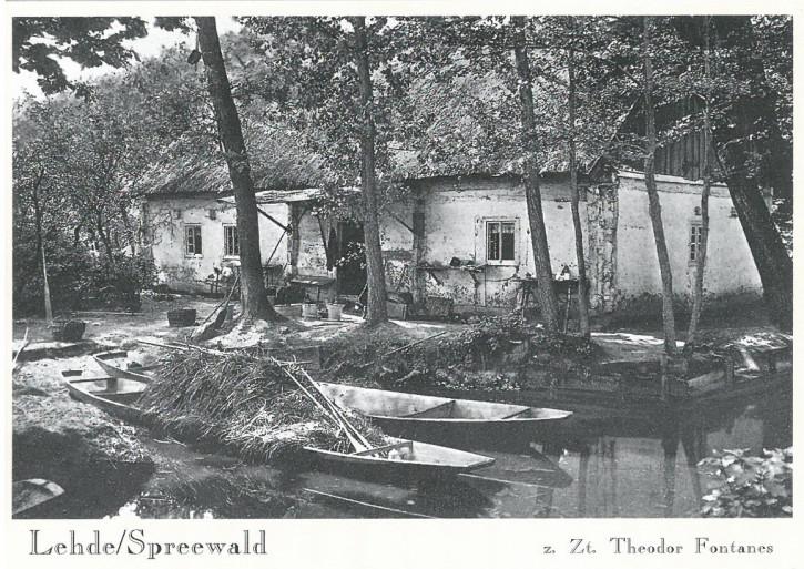 Lehde/Spreewald zur Zeit Theodor Fontanes (L)