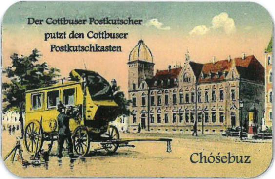 Magnet Cottbuser Postkutscher groß (L)