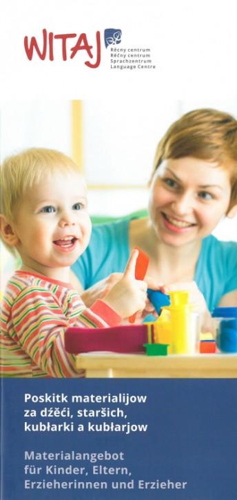 Materialangebot für Kinder, Eltern, Erzieherinnen und Erzieher