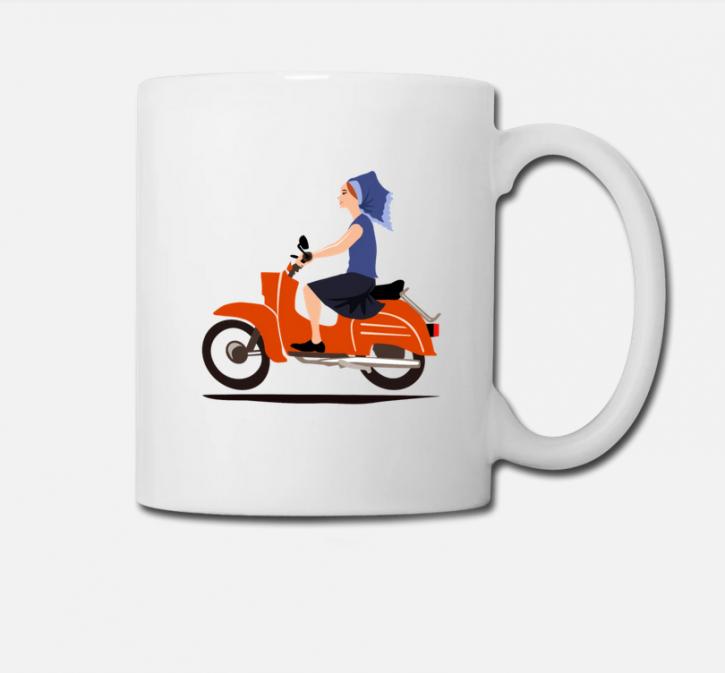 "Tasse ""Moped"" (L)"