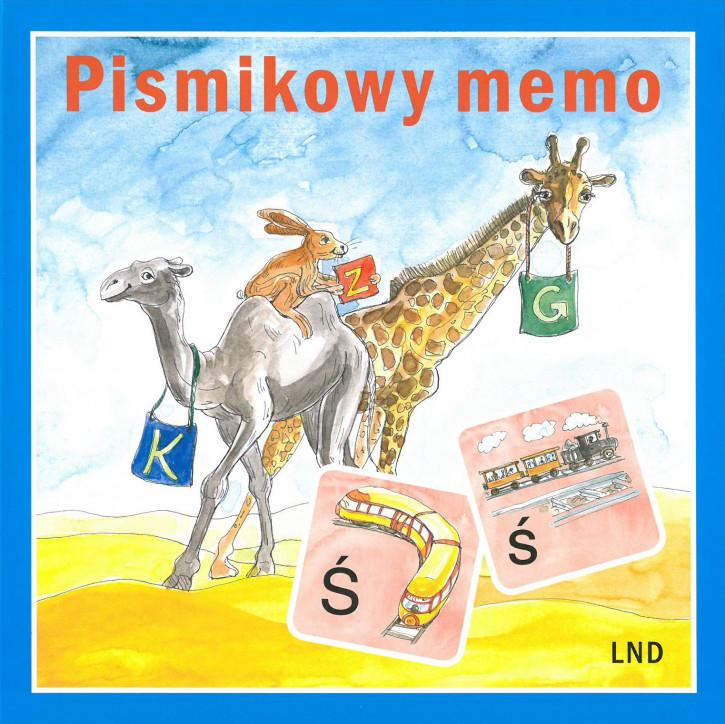 Pismikowy memo - Buchstabenmemo