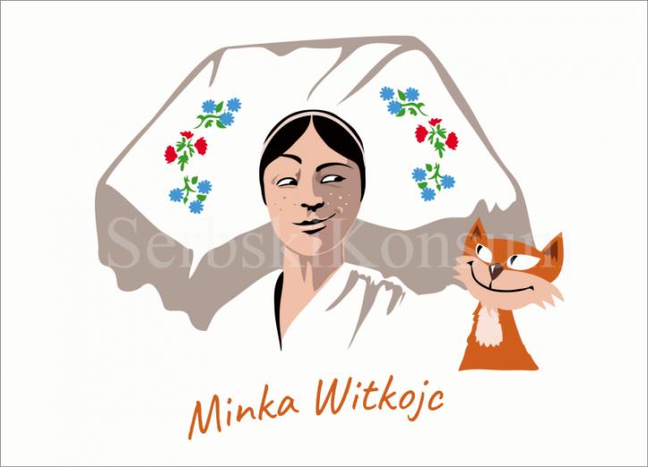 """Postkarte """"Minka Witkojc"""" (L)"""