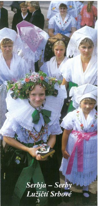 Serbja - Serby. Lužičtί Srbové