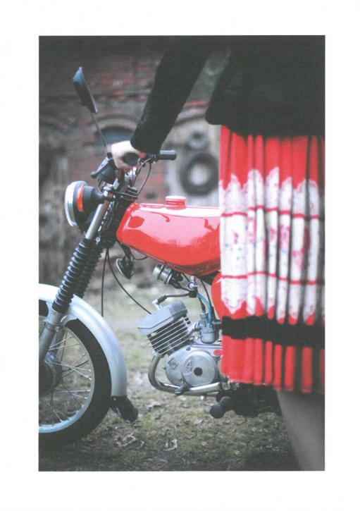 "Postkarte ""Motorrad"" (L)"