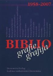 Domowina-Verlag - Bibliogafie 1958-2007