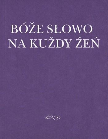 Bóže słowo na kuždy źeń 2022 (L)