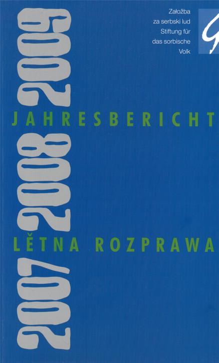 """""""Jahresbericht 2007/2008/2009"""" (L)"""