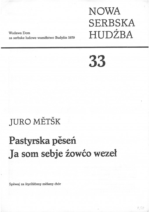 Neue sorbische Musik 33 (L)