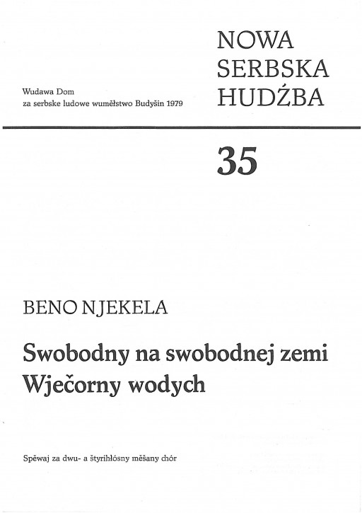 New Sorbian Music 35 (L)