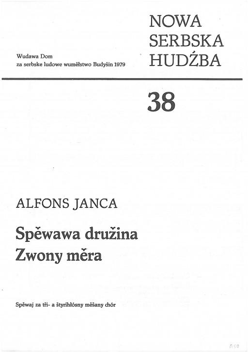 Neue sorbische Musik 38 (L)