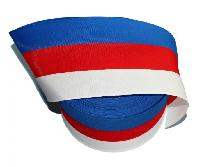 1 Meter Schleifenband in sorbischen Farben (Nr. 3)