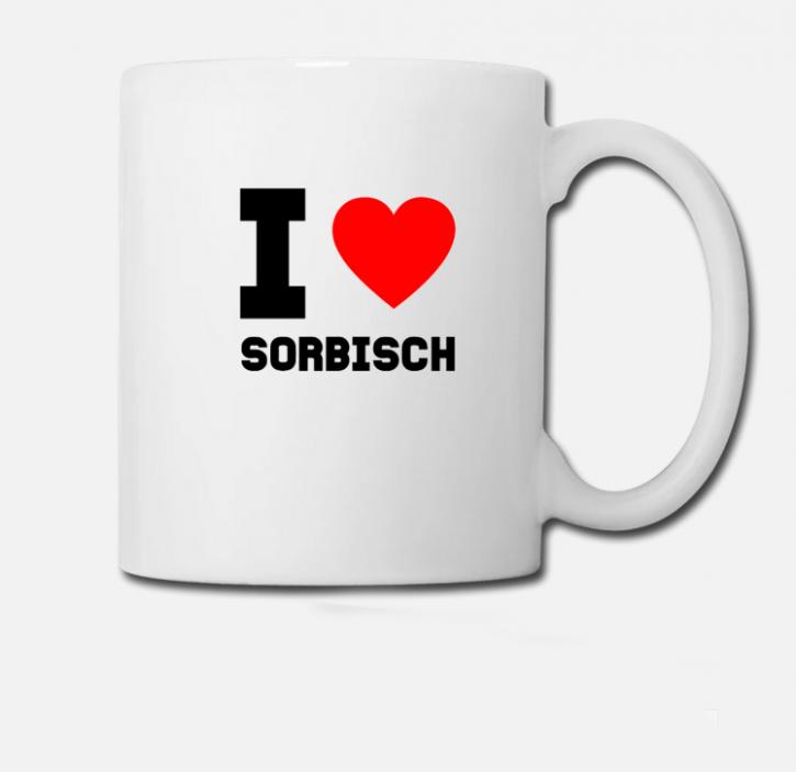 """Tasse """"Sorbisch"""" (L)"""