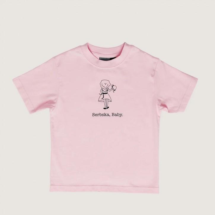 "T-Shirt ""Serbska, Baby."""